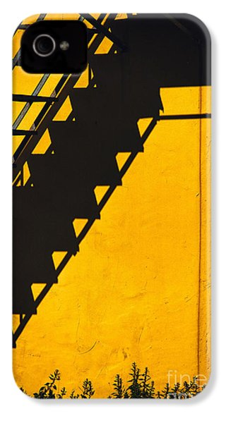 IPhone 4 Case featuring the photograph Staircase Shadow by Silvia Ganora