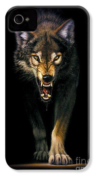 Stalking Wolf IPhone 4 Case