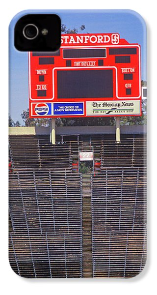 Stanford University Stadium In Palo IPhone 4 Case