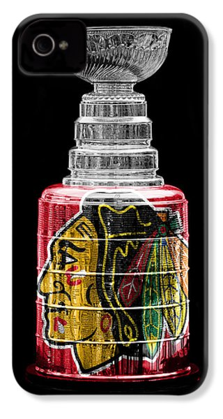 Stanley Cup 6 IPhone 4 Case by Andrew Fare