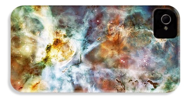 Star Birth In The Carina Nebula  IPhone 4 Case by Jennifer Rondinelli Reilly - Fine Art Photography
