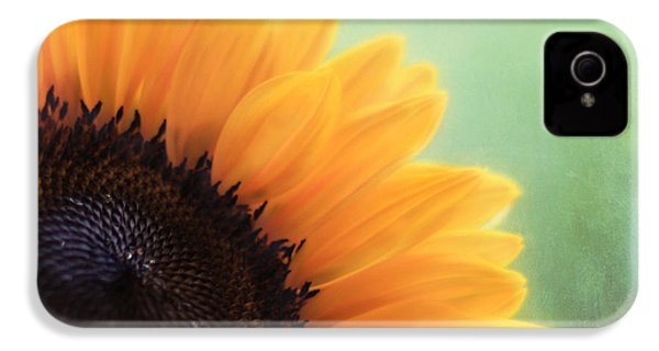 Staring Into The Sun IPhone 4 Case by Amy Tyler