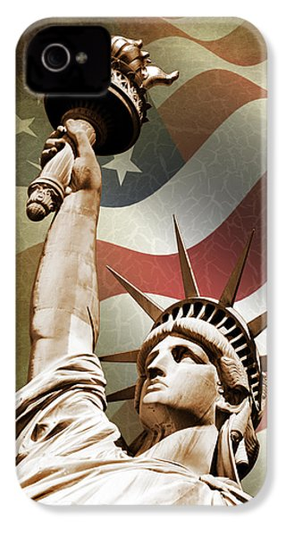 Statue Of Liberty IPhone 4 / 4s Case by Mark Rogan