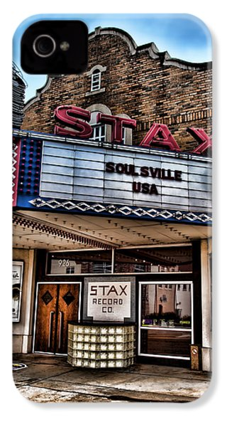 Stax Records IPhone 4 / 4s Case by Stephen Stookey