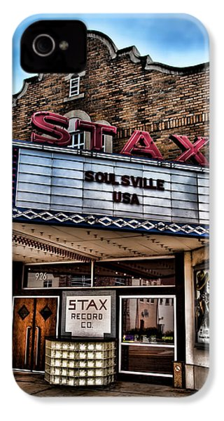 Stax Records IPhone 4 Case by Stephen Stookey