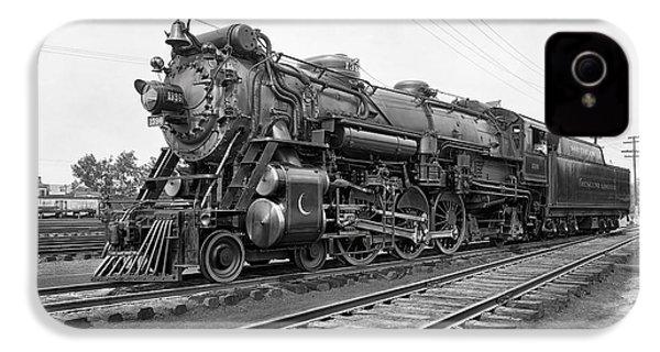 Steam Locomotive Crescent Limited C. 1927 IPhone 4 Case by Daniel Hagerman