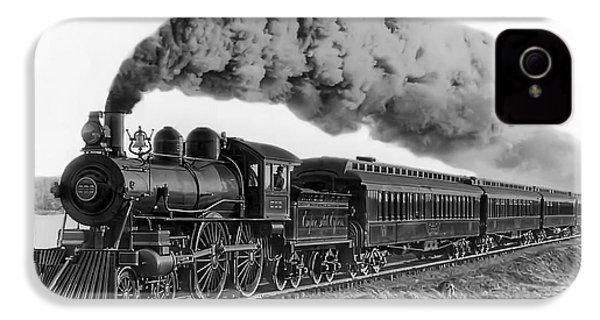 Steam Locomotive No. 999 - C. 1893 IPhone 4 Case by Daniel Hagerman