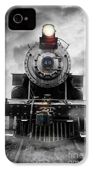 Steam Train Dream IPhone 4 Case by Edward Fielding