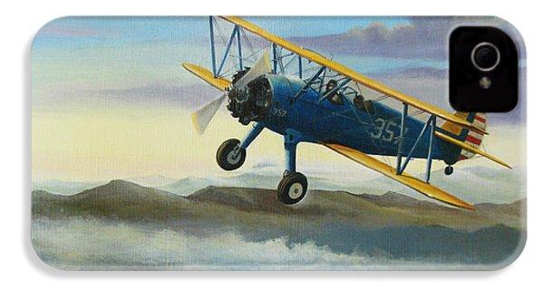 Stearman Biplane IPhone 4 / 4s Case by Stuart Swartz