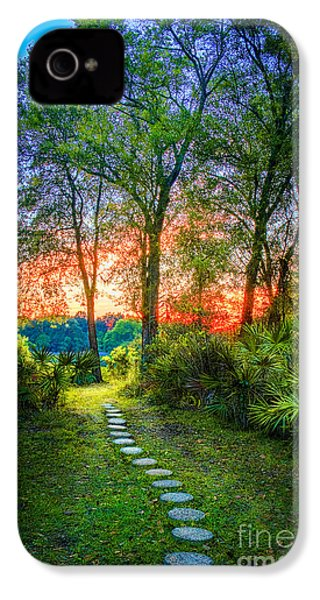 Stepping Stones To The Light IPhone 4 Case by Marvin Spates