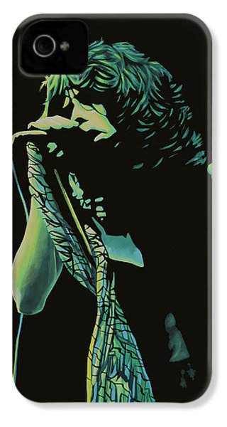 Steven Tyler 2 IPhone 4 Case by Paul Meijering