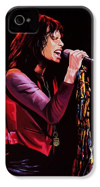 Steven Tyler IPhone 4 Case by Paul Meijering