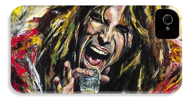 Steven Tyler IPhone 4 Case by Mark Courage