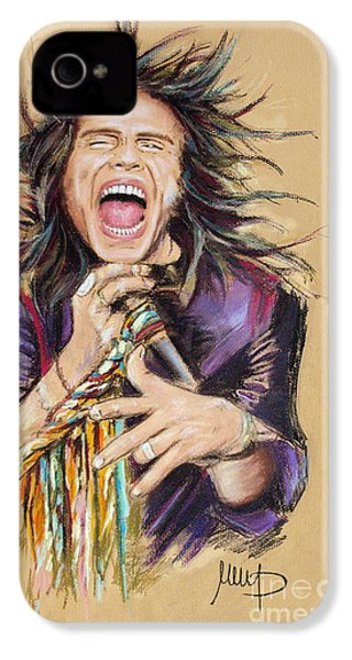 Steven Tyler IPhone 4 Case by Melanie D