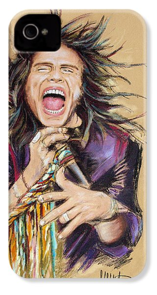 Steven Tyler IPhone 4 Case by Melanie D