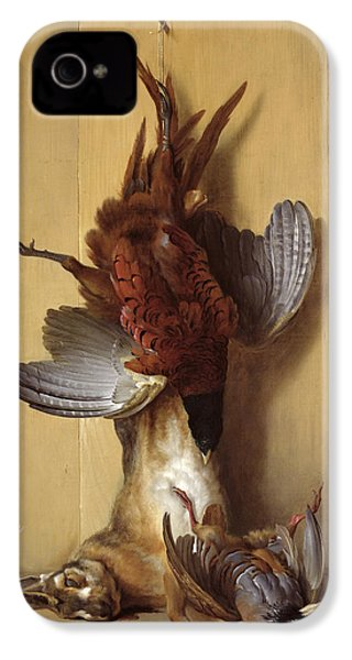 Still Life With A Hare, A Pheasant And A Red Partridge IPhone 4 Case