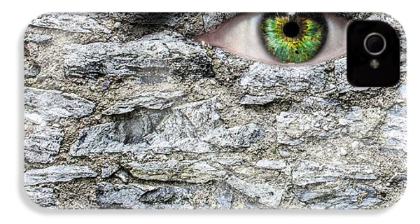 Stone Face IPhone 4 / 4s Case by Semmick Photo