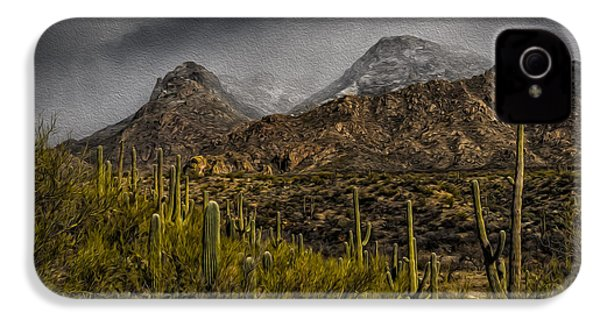 Storm Over Catalinas Aso IPhone 4 Case by Mark Myhaver