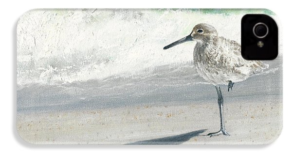 Study Of A Sandpiper IPhone 4 Case by Rob Dreyer