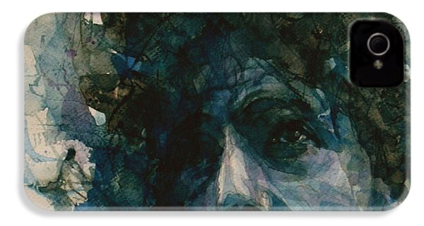 Subterranean Homesick Blues  IPhone 4 Case by Paul Lovering