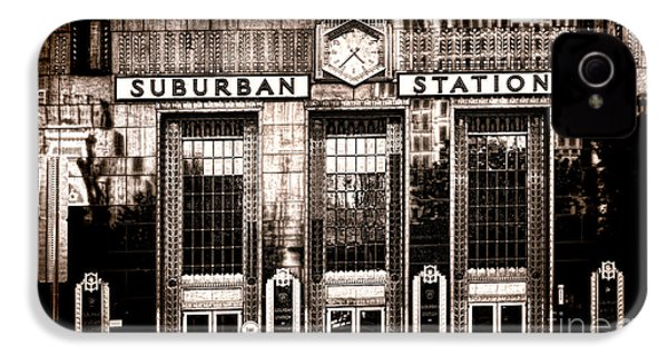 Suburban Station IPhone 4 Case by Olivier Le Queinec
