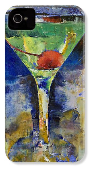 Summer Breeze Martini IPhone 4 Case by Michael Creese
