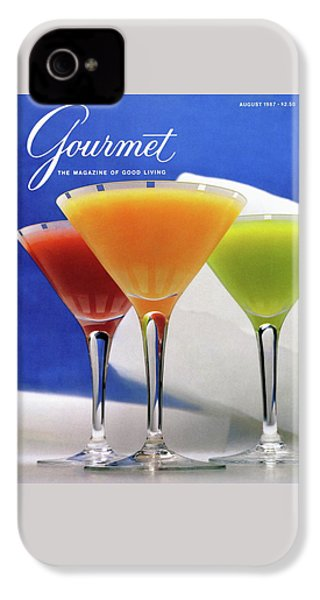 Summer Cocktails IPhone 4 Case