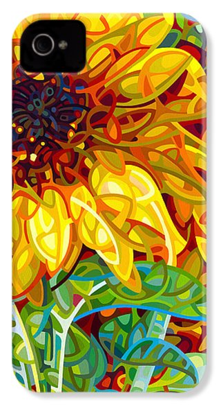 Summer In The Garden IPhone 4 Case by Mandy Budan