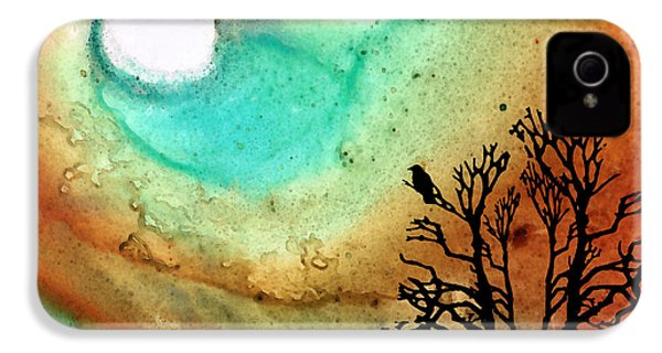 Summer Moon - Landscape Art By Sharon Cummings IPhone 4 Case