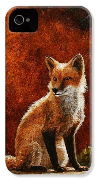Sun Fox IPhone 4 Case