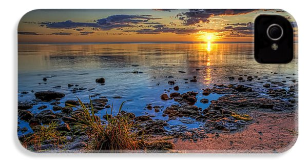 Sunrise Over Lake Michigan IPhone 4 Case by Scott Norris