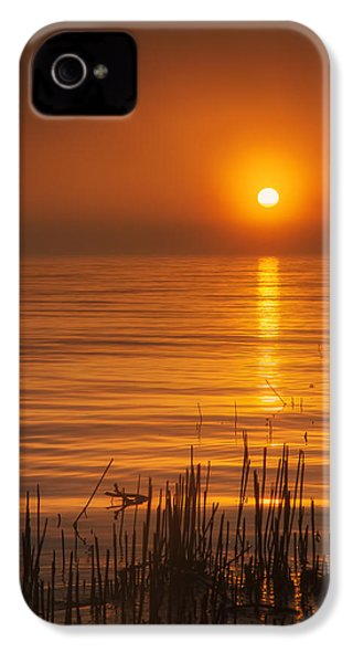 Sunrise Through The Fog IPhone 4 Case by Scott Norris