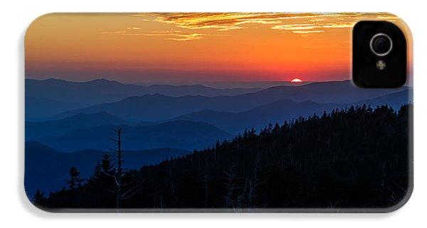 Sun's Last Peak Over The Blue Ridge IPhone 4 Case