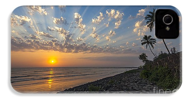 Sunset At Alibag, Alibag, 2007 IPhone 4 Case by Hitendra SINKAR