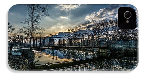 Sunset Bridge 2 IPhone 4 Case