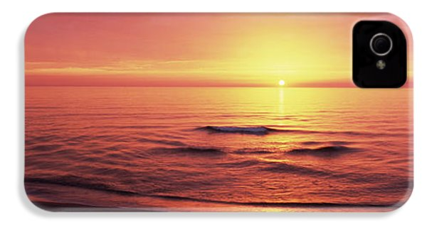 Sunset Over The Sea, Venice Beach IPhone 4 Case by Panoramic Images