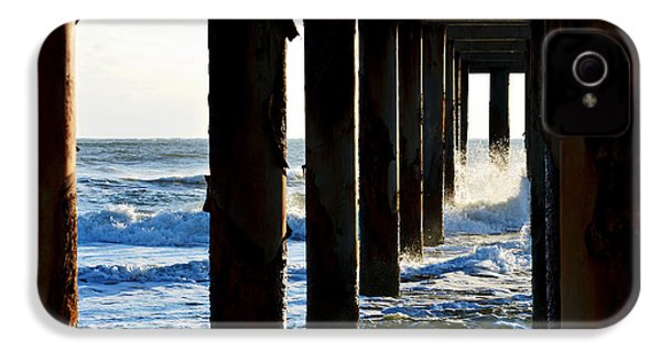 Sunwash At St. Johns Pier IPhone 4 Case by Anthony Baatz
