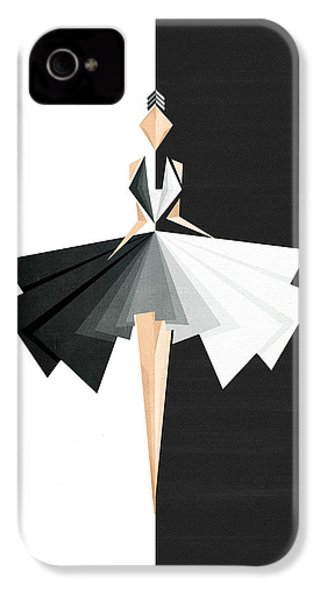 Swan Lake IPhone 4 Case by VessDSign