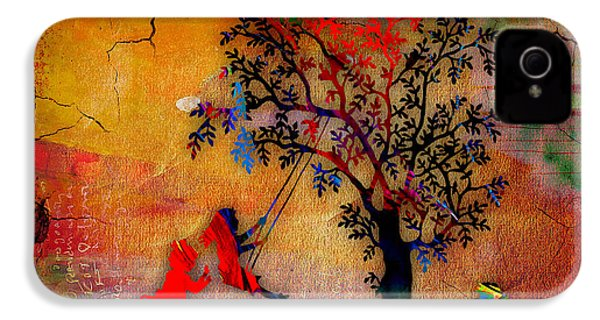 Swinging On A Tree IPhone 4 / 4s Case by Marvin Blaine