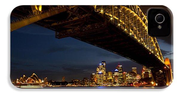 IPhone 4 Case featuring the photograph Sydney Harbour Bridge by Miroslava Jurcik