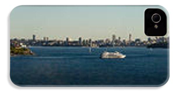 IPhone 4 Case featuring the photograph Sydney Panorama by Miroslava Jurcik