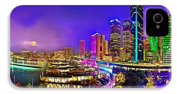Sydney Vivid Festival IPhone 4 Case by Az Jackson