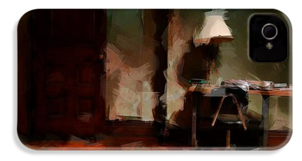 Table Lamp Chair IPhone 4 Case by H James Hoff