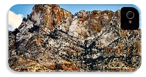 IPhone 4 Case featuring the photograph Table Mountain In Winter 42 by Mark Myhaver