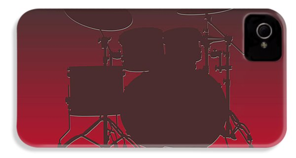 Tampa Bay Buccaneers Drum Set IPhone 4 Case by Joe Hamilton