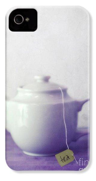 Tea Jug IPhone 4 Case by Priska Wettstein