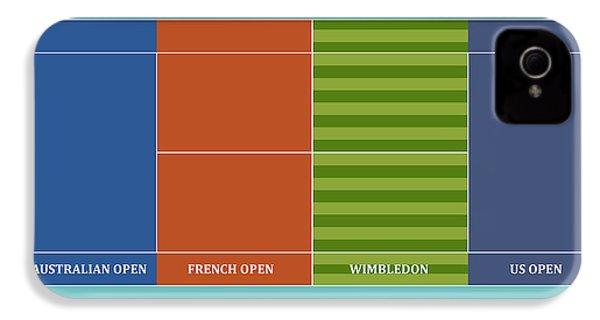 Tennis Player-s Dream IPhone 4 Case