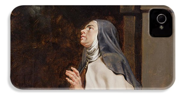Teresa Of Avilas Vision Of A Dove IPhone 4 / 4s Case by Peter Paul Rubens