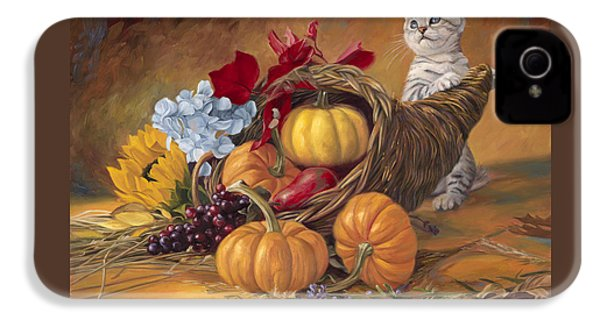 Thankful IPhone 4 / 4s Case by Lucie Bilodeau