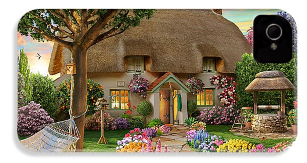 Thatched Cottage IPhone 4 Case by Adrian Chesterman